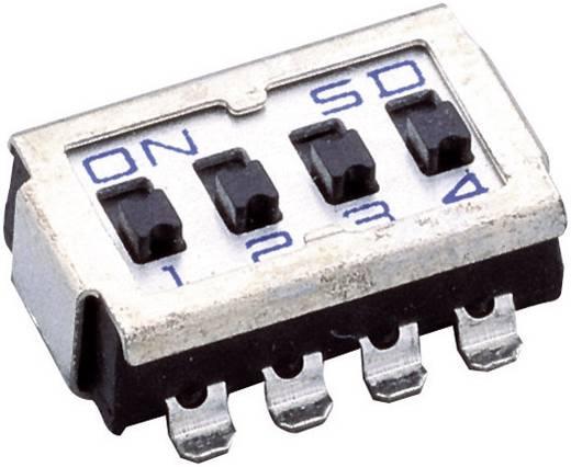 DIP-Schalter Polzahl 8 Slide-Type SD 08 1 St.