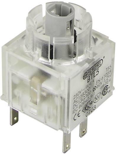 Kontaktelement mit Lampenfassung 1 Öffner, 1 Schließer tastend 250 V Schlegel BTL5 1 St.