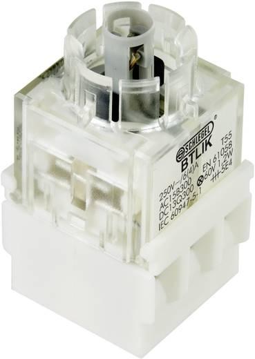 Kontaktelement mit Lampenfassung 2 Schließer tastend 250 V Schlegel BTLI5K 1 St.