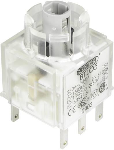 Kontaktelement mit Lampenfassung 2 Öffner tastend 250 V Schlegel BTLO5 1 St.