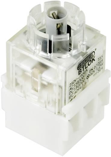 Kontaktelement mit Lampenfassung 2 Öffner tastend 250 V Schlegel BTLO5K 1 St.