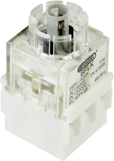 Kontaktelement mit Lampenfassung 1 Öffner, 1 Schließer rastend 250 V Schlegel BFL5K 1 St.