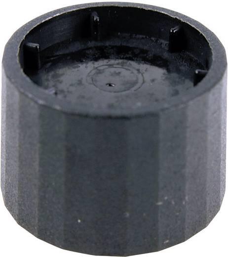 Cliff CL172877 Drehknopf Schwarz (Ø x H) 25.3 mm x 19.2 mm 1 St.