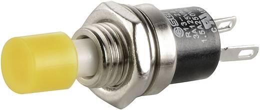 Drucktaster 250 V/AC 1.5 A 1 x Aus/(Ein) SCI R13-24A1-05 YE tastend 1 St.
