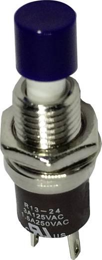 Drucktaster 250 V/AC 1.5 A 1 x Aus/(Ein) SCI R13-24A1-05-BL tastend 1 St.