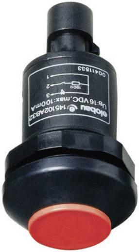 Drucktaster 48 V DC/AC 0.5 A 1 x Aus/(Ein) Elobau 145000AB-RD IP67 tastend 1 St.