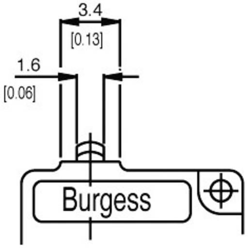 Burgess Mikroschalter F4T7UL 250 V/AC 5 A 1 x Ein/(Ein) IP40 tastend 1 St.