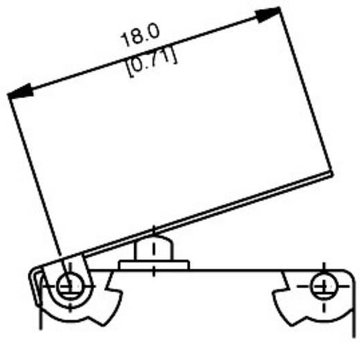 Mikroschalter 250 V/AC 5 A 1 x Ein/(Ein) Saia V4NST7Y1UL IP67 tastend 1 St.