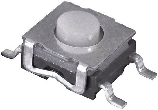 Namae Electronics JTP-1260AEM Drucktaster 12 V/DC 0.05 A 1 x Aus/(Ein) tastend 1 St.