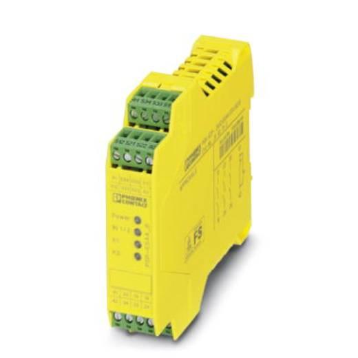 Sicherheitsrelais 1 St. PSR-SCP- 24UC/ESA4/3X1/1X2/B Phoenix Contact Betriebsspannung: 24 V/DC, 24 V/AC 3 Schließer (B x H x T) 22.5 x 99 x 114.5 mm Mit Meldestrompfad