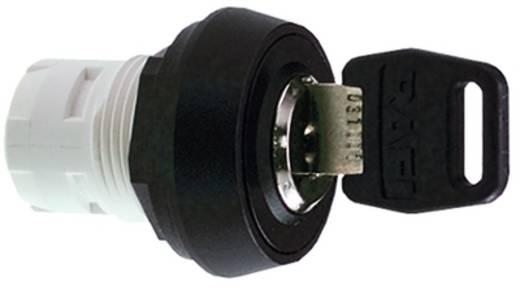 Schlüsselschalter Schwarz 1 x 90 ° RAFI 1.30.076.171/0000 2 St.