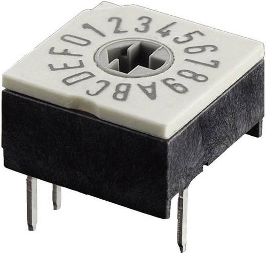 Kodierschalter Hexadezimal 0-9/A-F Schaltpositionen 16 Hartmann P60A 703 1 St.