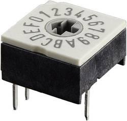 Kódovací spínač Hartmann P60A 701, BCD, 0-9, počet pozícií prepínača 10, 1 ks