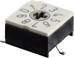 Kódovací spínač Hartmann P60AS 701, BCD, 0-9, počet pozícií prepínača 10, 1 ks