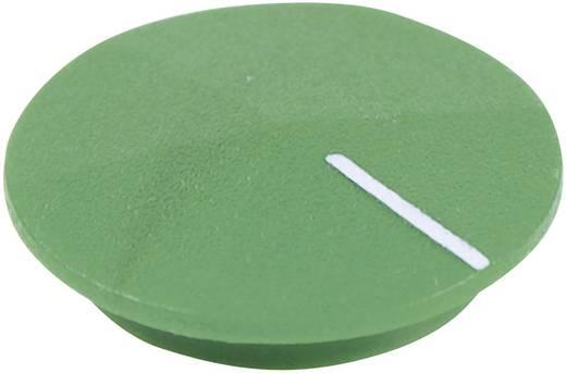 Abdeckkappe mit Zeiger Grün, Weiß Passend für Drehschalter K12 Cliff CL177815 1 St.