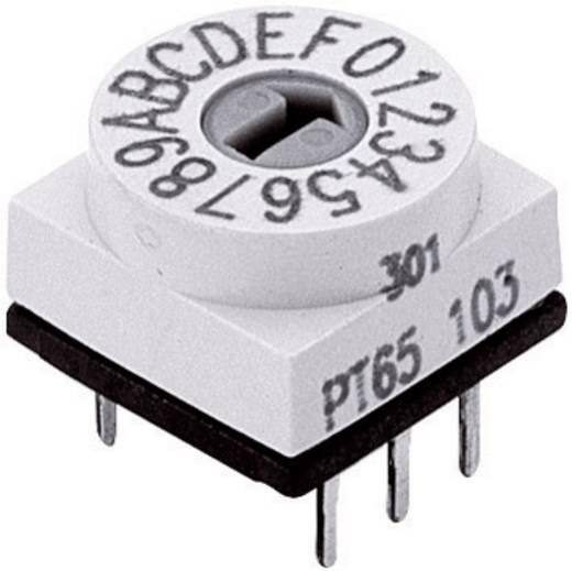 Kodierschalter BCD 0-9 Schaltpositionen 10 Hartmann BCD-CODIERSCHALTER 1 St.