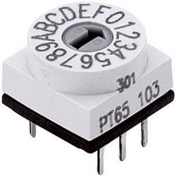 Kódovací spínač Hartmann BCD-CODIERSCHALTER, BCD, 0-9, počet pozícií prepínača 10, 1 ks