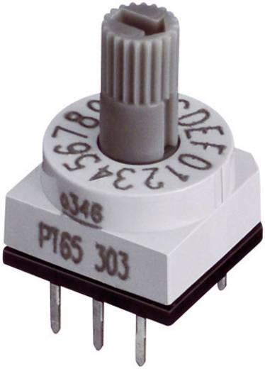 Kodierschalter Hexadezimal 0-9/A-F Schaltpositionen 16 Hartmann HEX.CODIERSCH.M.STECKACHSE 1 St.