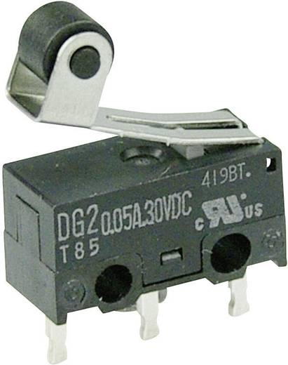 Cherry Switches Mikroschalter DG23-B1RA 30 V/DC 0.05 A 1 x Ein/(Ein) tastend 1 St.