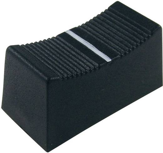 Schiebeknopf Schwarz (L x B x H) 23 x 11 x 11 mm Cliff CP3260 1 St.