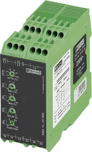 Überwachungsrelais 2 Wechsler 1 St. Phoenix Contact EMD-FL-3V-690 3-Phasen, Spannung, Asymmetrie, Unterspannung, Phasen