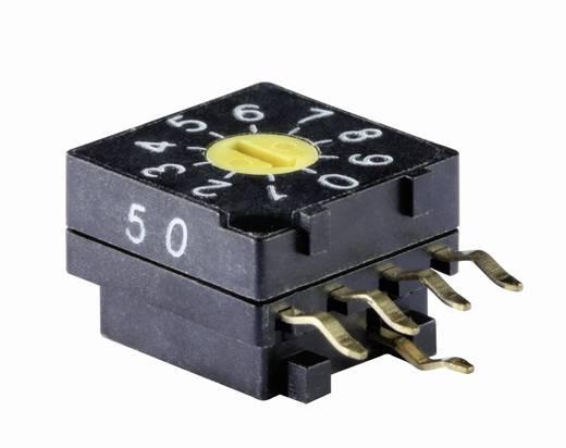 Kodierschalter BCD 0-9 Schaltpositionen 10 Knitter-Switch DRR 3010 1 St.