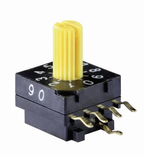 Kodierschalter BCD 0-9 Schaltpositionen 10 Knitter-Switch DRR 4010 1 St.