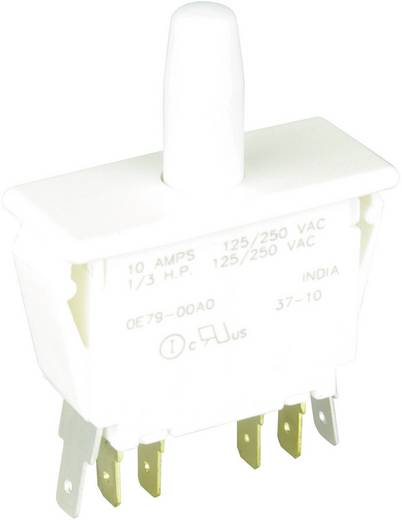 Cherry Switches E79-00A Drucktaster 250 V/AC 10 A 2 x Ein/(Ein) tastend 1 St.