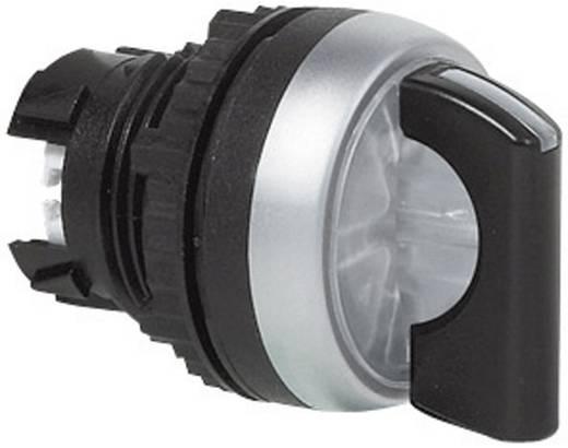 Wahltaste Frontring Kunststoff, verchromt Schwarz 1 x 45 ° BACO L21KG30 1 St.