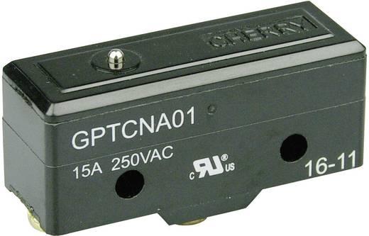 Mikroschalter 250 V/AC 15 A 1 x Ein/(Ein) Cherry Switches GPTCNA01 tastend 1 St.