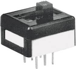Interrupteur à glissière APEM 25139N090 250 V/AC 2 A 1 x On/Off/On 1 pc(s)
