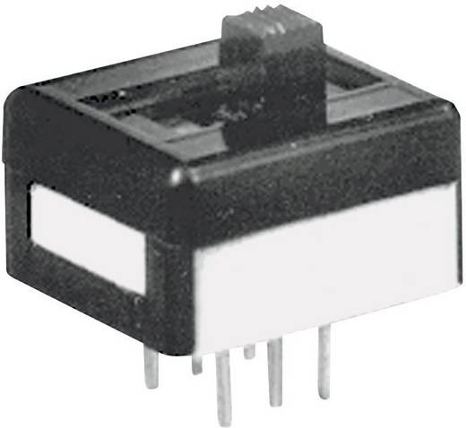 Schiebeschalter 250 V/AC 2 A 2 x Ein/Aus/Ein APEM 25149NAH 1 St.