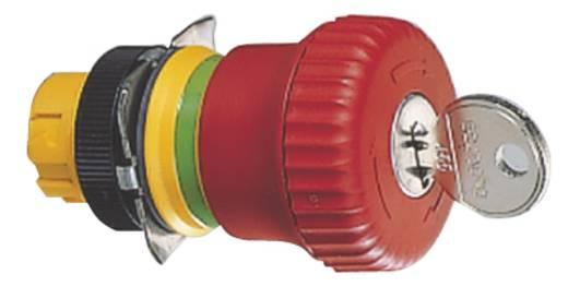 Not-Aus-Schalter mit Statusanzeige Rot Drehentriegelung RAFI RAFIX 22 QR 1.30.243.701/0300 2 St.