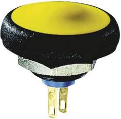 Bouton-poussoir à rappel APEM IFS3Z1AD300 50 V/DC 0.1 A 1 x Off/(On) IP67 momentané 1 pc(s)
