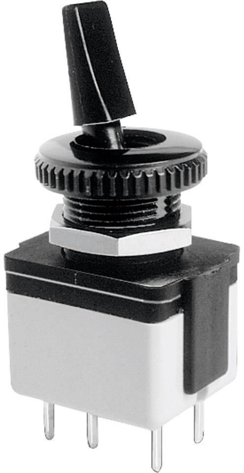 APEM 4641A-22 Kippschalter 250 V//AC 3 A 2 x Aus//Ein  rastend 1 St.