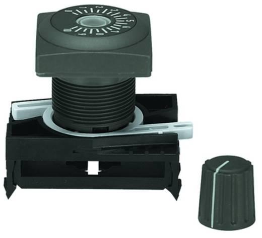 Potentiometerantrieb Schiefer-Grau RAFI RAFIX 22 QR 1.30.248.021/0700 2 St.