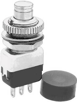 Image of APEM 10435A Drucktaster 220 V/AC 2 A 1 x Ein/(Aus) tastend 1 St.