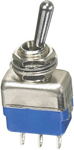Kippschalter 250 V/AC 2 A 1 x Ein/Ein APEM 11136A rastend 1 St.
