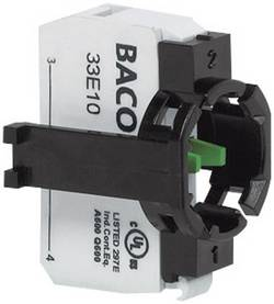 Elément de contact BACO BA331E10 1 NO (T) momentané 600 V 1 pc(s)