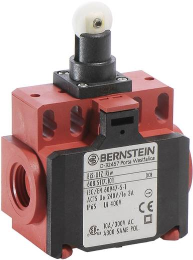 Endschalter 240 V/AC 10 A Rollenhebel tastend Bernstein AG BI2-U1Z RIW IP65 1 St.