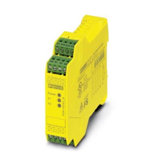 Sicherheitsrelais 1 St. PSR-SCP- 24UC/ESA2/4X1/1X2/B Phoenix Contact Betriebsspannung: 24 V/DC, 24 V/AC 4 Schließer (B x H x T) 22.5 x 99 x 114.5 mm
