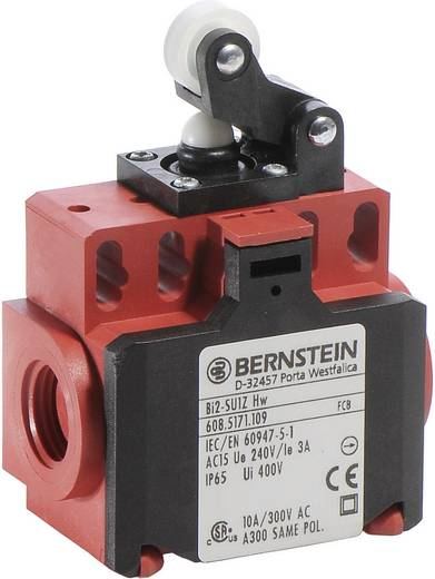 Bernstein AG BI2-SU1Z HW Endschalter 240 V/AC 10 A Rollenhebel tastend IP65 1 St.