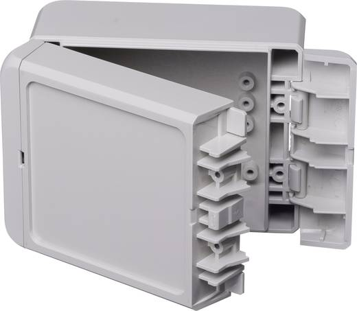 Bopla Bocube B 100806 ABS-7035 Wand-Gehäuse, Installations-Gehäuse 80 x 113 x 60 ABS Licht-Grau (RAL 7035) 1 St.
