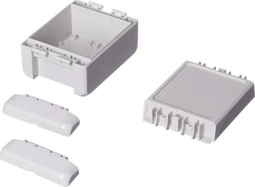 Wand-Gehäuse, Installations-Gehäuse 80 x 113 x 60 Polycarbonat Licht-Grau (RAL 7035) Bopla Bocube B 100809 PC-V0-7035