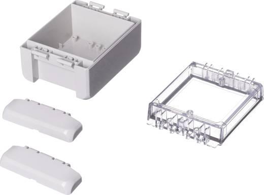 Wand-Gehäuse, Installations-Gehäuse 80 x 113 x 60 Polycarbonat Licht-Grau (RAL 7035) Bopla Bocube B 100806 PC-V0-G-703