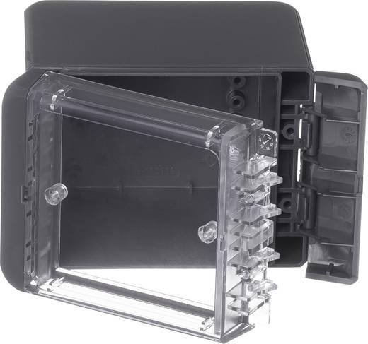 Bopla Bocube B 100809 PC-V0-G-7024 Wand-Gehäuse, Installations-Gehäuse 90 x 113 x 80 Polycarbonat Graphitgrau (RAL 702