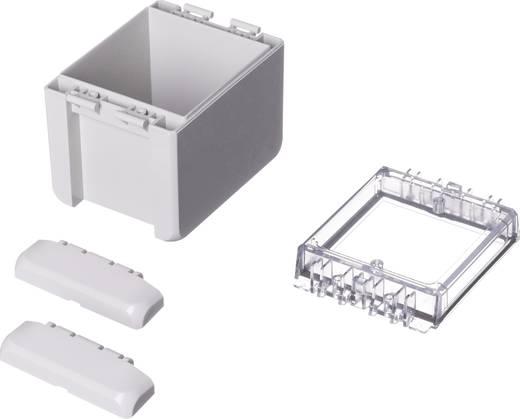 Wand-Gehäuse, Installations-Gehäuse 90 x 113 x 80 Polycarbonat Licht-Grau (RAL 7035) Bopla Bocube B 100809 PC-V0-G-703