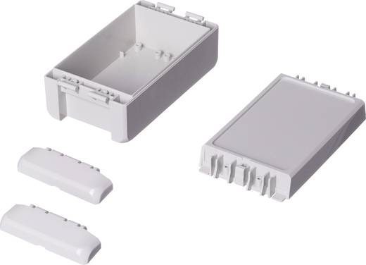 Wand-Gehäuse, Installations-Gehäuse 80 x 151 x 60 ABS Licht-Grau (RAL 7035) Bopla Bocube B 140806 ABS-7035 1 St.