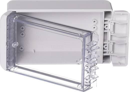 Wand-Gehäuse, Installations-Gehäuse 80 x 151 x 60 Polycarbonat Licht-Grau (RAL 7035) Bopla Bocube B 140806 PC-V0-G-703