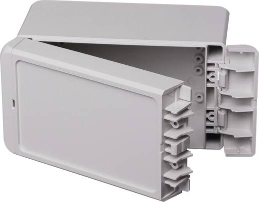 Wand-Gehäuse, Installations-Gehäuse 80 x 151 x 90 ABS Licht-Grau (RAL 7035) Bopla Bocube B 140809 ABS-7035 1 St.